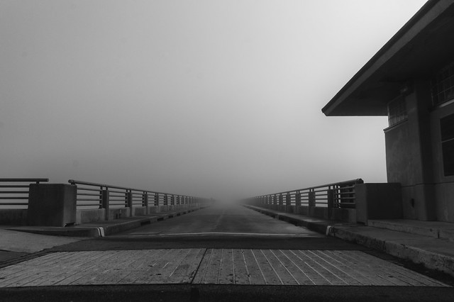 Bridge to an awaiting Charon