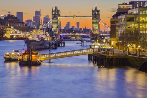 'Til the Morning Comes (Tower Bridge and HMS Belfast, London, United Kigdom)