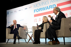 Joe Biden, Jeanne Cummings & Gerald F. Seib