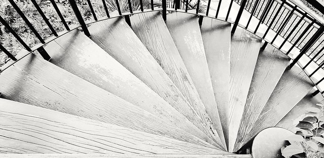 Staircase fan, Chinatown