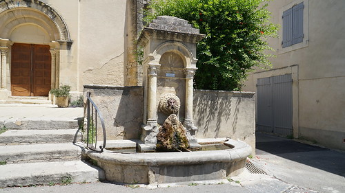 An old fountain full of charm