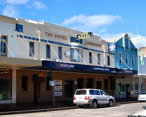 Hotel Lansdowne, Lithgow, NSW.
