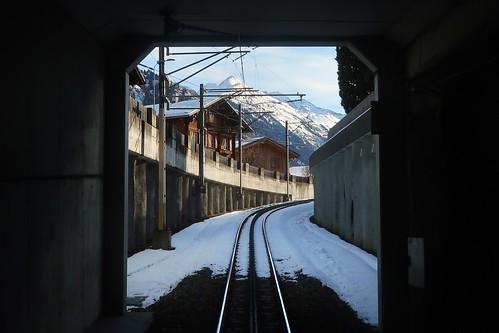 MGB Tunnel Disentis Mustér