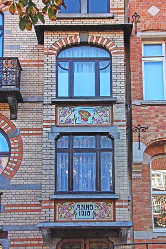 42. BRUXELLES - Art nouveau - Maison Hellinckx / Arch. inconnue