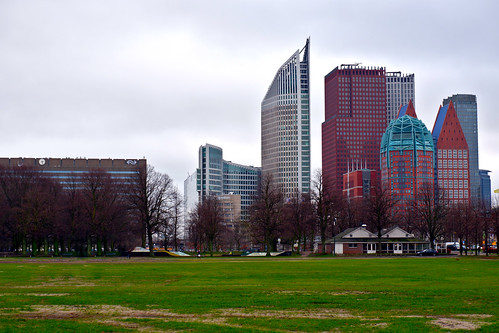 View from Haagse Bos park