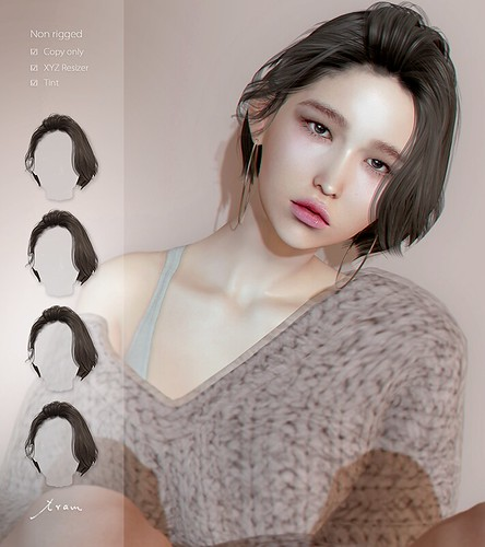 tram J0214 hair
