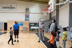 Vacan'sport basket rencontre equipe de Nanterre_12