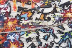 Brick wall tagged