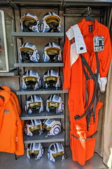 Flight Suit and Helmets