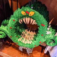 Scary Wreath