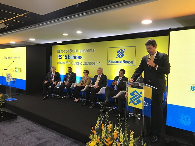20/02/2020 Lançamento do pré-custeio da safra 2020-2021 - Banco do Brasil