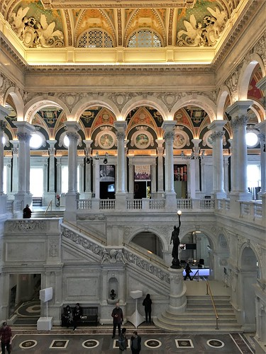 Library of Congress ~ Great Hall