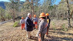 USDA Undersecretary Northey tours Ashland Forest Resiliency Project