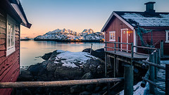 Sunset in Svolvaer - Norway - Travel photography