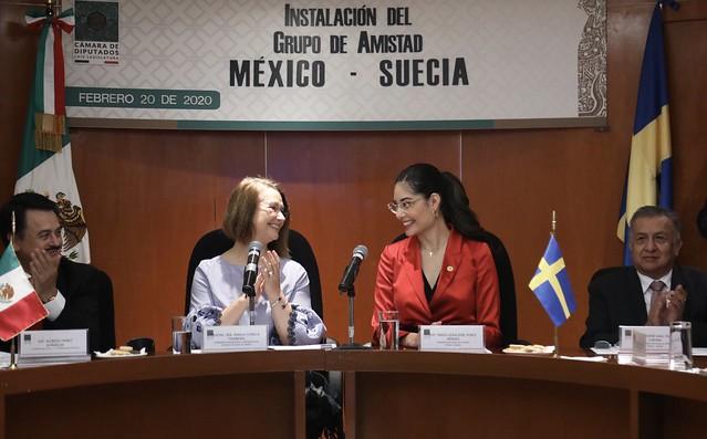 20/02/2020 Instalación Grupo De Amistad México-Suecia
