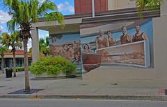 Mural, Main Street, New Port Richey, Florida