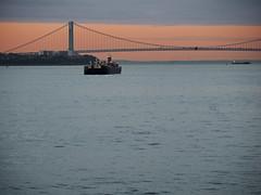 Verrazzano-Narrows Bridge at dawn