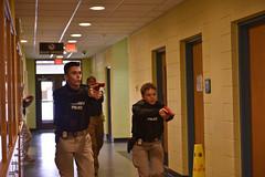 DoDea Response Drill Humphreys High School - U.S. Army Garrison Humphreys, South Korea - Feb. 21. 2020.