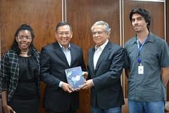 Visita do Embaixador da Indonésia - 19/02/2020
