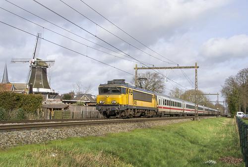Wijhe 20200221 Loc 1745+IC Berlijn