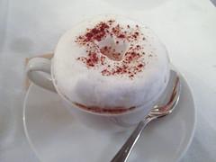 Cappuccino at Matisse