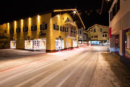St. Johan at night