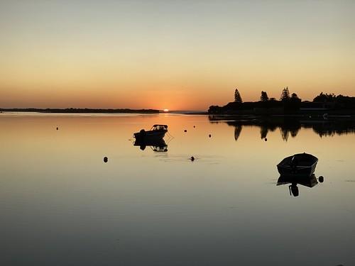 Sunrise over the Blackwood River, Augusta