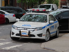 NYPD Ford Fusion