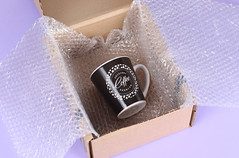 Coffe cup inside package box