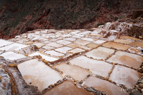 Incas' salt ponds
