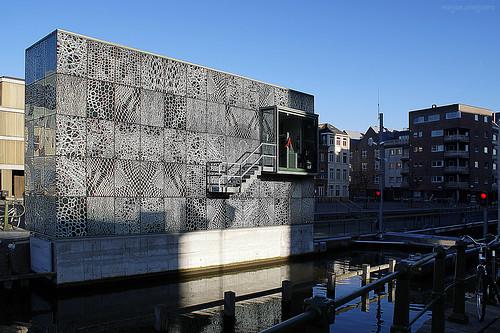 Scaldis Lock, Ghent, Belgium