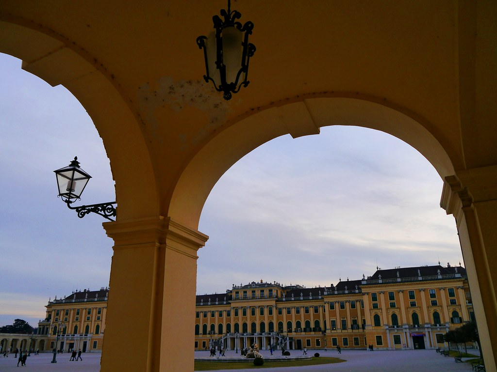 Wien, Schloss Schönbrunn / Schoenbrunn Palace