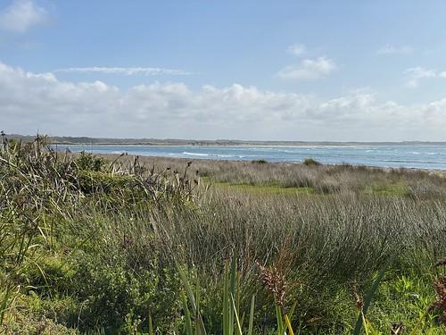 The Augusta coastline