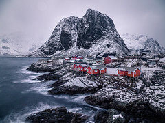 Hamnoy - Lofoten, Norway - Seascape photography