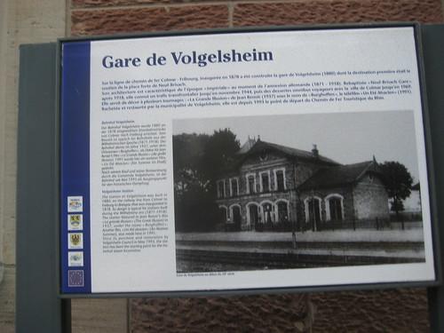 Signal - Bahnhof vu Volgelse