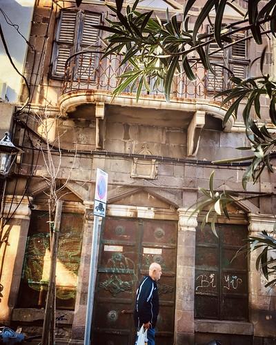Facades of Chios town