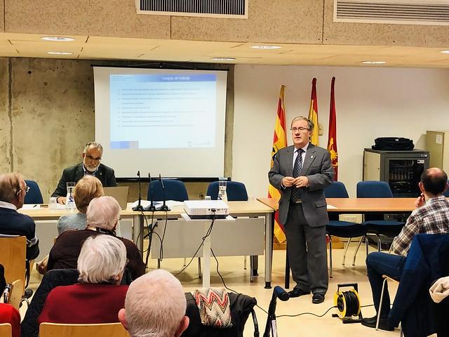 Charla en Junta del Rabal sobre Mayores en Soledad