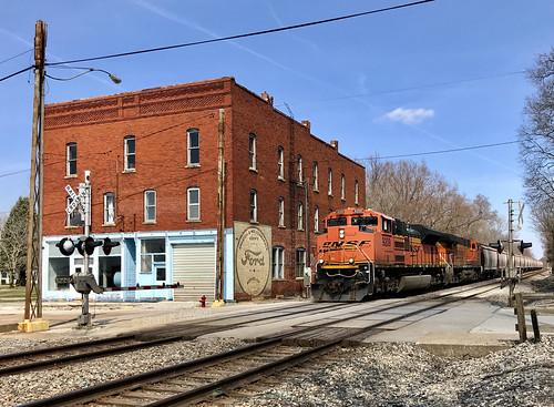 Anguish with train, again - Dallas City, Illinois