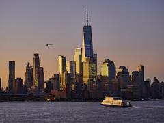 View of Manhattan at dawn