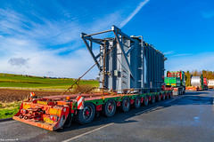 Rawcliffe Headed for Rothienorman with 109Ton Unit for a Sub Station