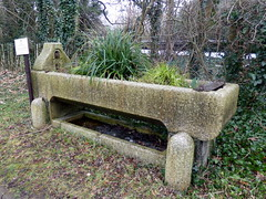 GOC Welwyn Garden City 064: Drinking trough, Mill Green