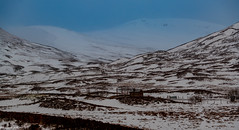 The Pass of Drumochter (Scottish Gaelic: Bealach Druim Uachdair) @ 1484ft or 452m Is the Highest Point on the Rail Network..