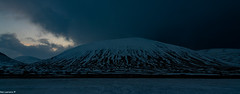 Night time closing in @ The Pass of Drumochter