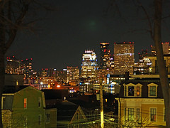 city lights - Boston, MA