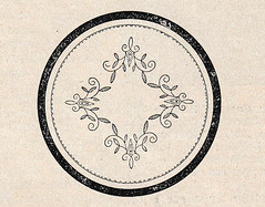 1927 circular embroidery pattern
