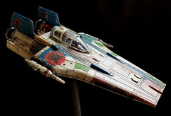 Gran A wing Star Wars Revell Resistance A-wing Fighter