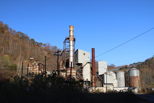 Shut down Bluestone Coal Co. prep plant.