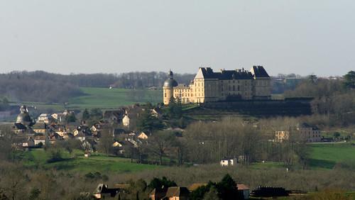 Chateau of Hautefort, Dordogne