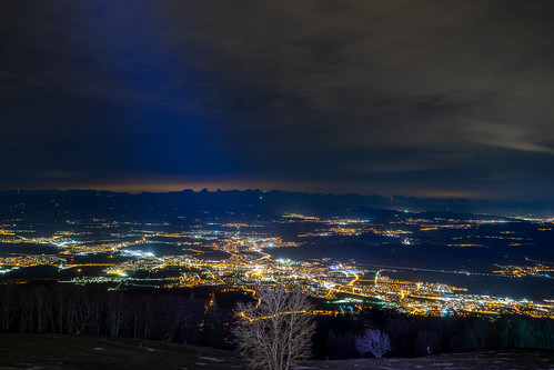 Around 8 PM: Night view of Solothurn (281/365)