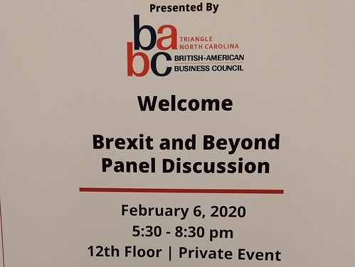 Brexit and Beyond: February 6, 2020  The Cannon Room